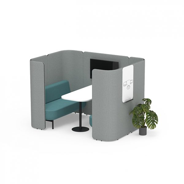Joie Hovel Meeting Booth